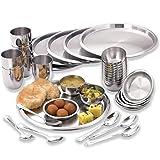 WhiteStar Stainless Steel Dinner Set Of 36 Pieces