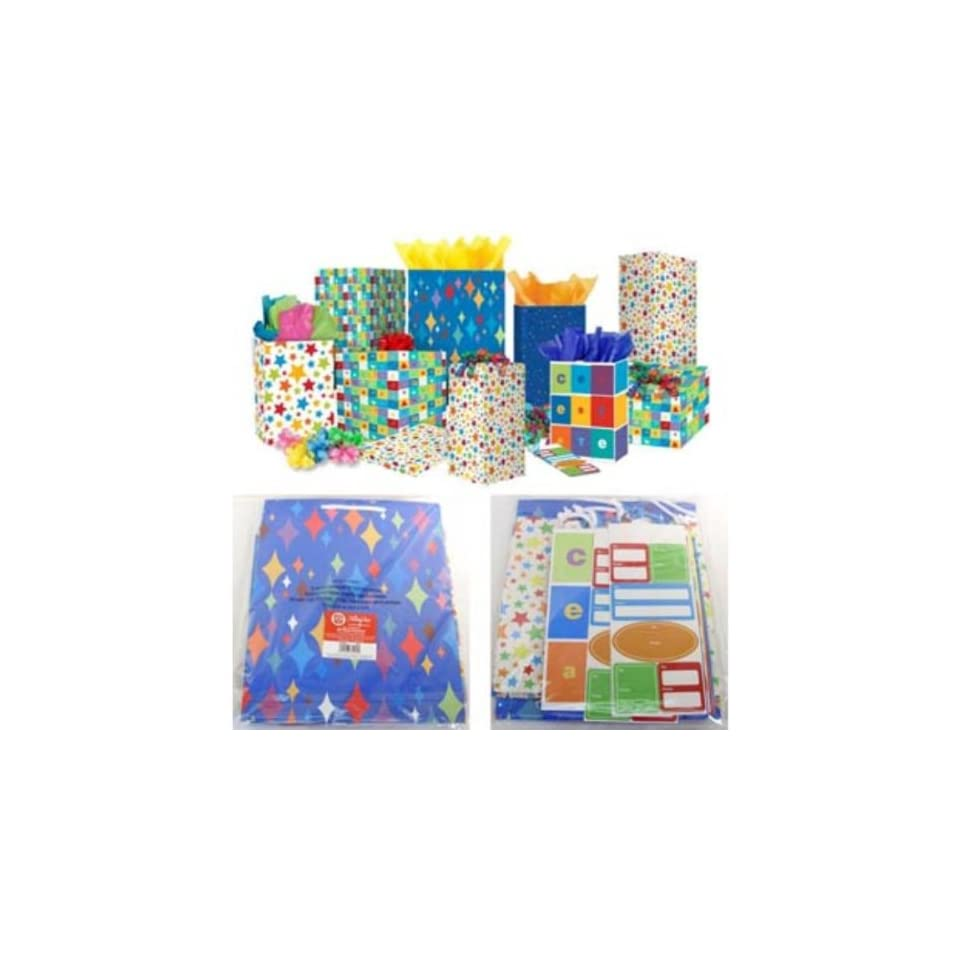 American Greetings 60 pc Gift Wrap Kit Case Pack 18