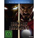Iron Man / Iron Man 2 (Steelbook) [Blu-ray] [Collector&#39;s Edition]