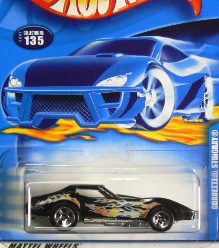 #2001-135 Corvette Stingray Collectible Collector Car Mattel Hot Wheels
