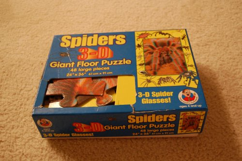 Cheap Frank Schaffer Spiders 3-D Giant Floor Puzzle (B002OQ1HCS)