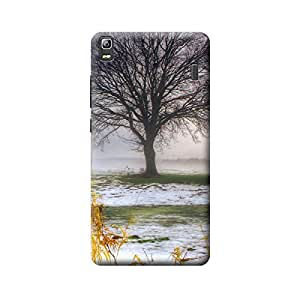 Qbic Designer Printed 3D High Quality Mobile Back Case Cover For Lenovo A7000/K3 Note (Premium Matte Finishing Back Case )