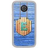 YuBingo Motorola Moto E :: Motorola Moto E XT1021 :: Motorola Moto E Dual SIM :: Motorola Moto E Dual SIM XT1022 :: Motorola Moto E Dual TV XT1025 Designer Phone Back Case Cover ( Elegant Letter E (Wood Finish Plastic) )