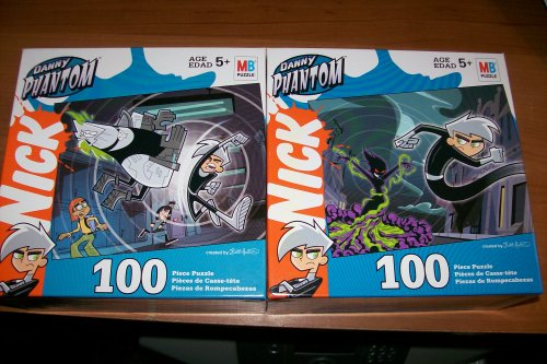 Nickelodeon Danny Phantom 100pc Puzzle - 1