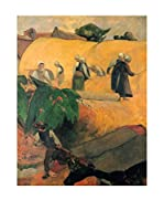 Legendarte Lienzo Mietitori di Paul Gauguin