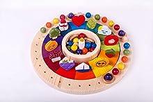 Calendario Anual Waldorf Montessori, educativo,celebraciones, manipulativo, perpetual calendar,
