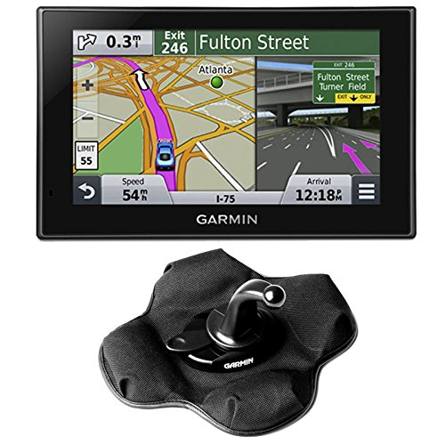 Garmin Nuvi 2599Lmt 010-01187-00 North America 5 Inch Bluetooth, Voice Activated Lifetime Maps And Traffic Usa Canada Mexico Maps Gps Friction Mount Bundle- Includes Gps, And Garmin Portable Friction Dash Mount