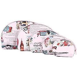 Diwali Gifts for Women Big Ben Multipurpose Pouch or Purse - Pink - Combo of 5 (PU-001093-VINPK)