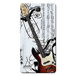 Kaira Back Case Cover For Xiaomi Redmi Note Prime (Guitar)