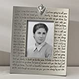 Bereavement Memory Picture Frame with Verse