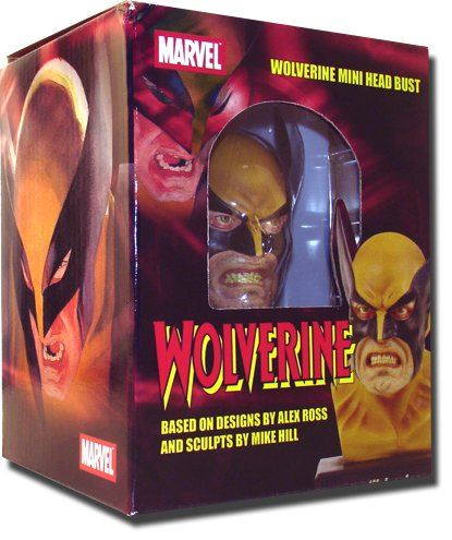 Buy ALEX ROSS WOLVERINE HEAD BUST