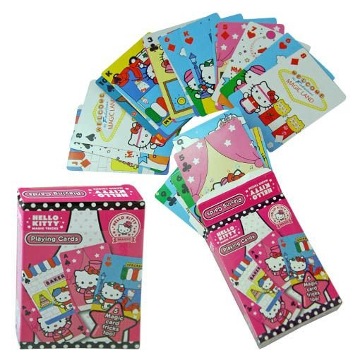 Hello Kitty Deck of Playing Cards - Magical - 1