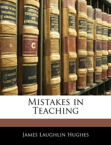 Mistakes in Teaching