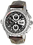 Hamilton Men's H76626535 Khaki X Mach Black Chronograph Dial Watch from Hamilton