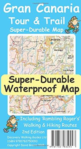 Gran Canaria Super-Durable Tour & Trail Map
