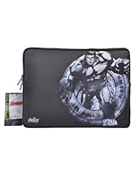 Thrumm Avengers Hulk Smash 13.3-Inch Sleeve For MacBook (Black/White)
