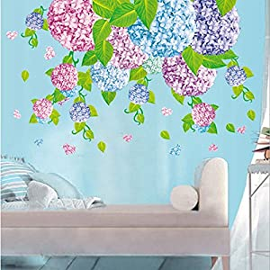 Flower Wall Stickers Love Wall Decal Mural Home Decor
