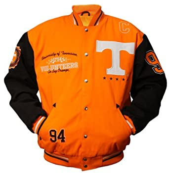 NCAA Unisex Adult Tennessee Volunteers Licensed Collegiate Varsity Jackets by MTC Marketing