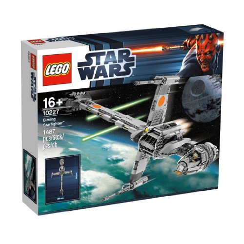 LEGO Star Wars 10227 B-Wing Starfighter [UK Import]