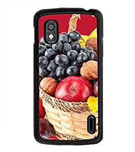 Fruit Basket 2D Hard Polycarbonate Designer Back Case Cover for LG Nexus 4 E960 :: LG Nexus 4 :: LG Mako