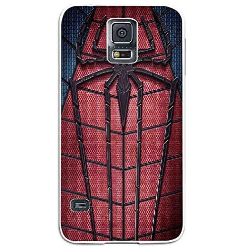 Amazing Spiderman Logo Custom for Samsung Galaxy Case (Samsung Galaxy S5 White)