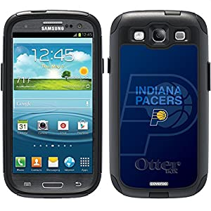 Indiana Pacers - Logo Watermark design on a Black OtterBox® Commuter Series® Case for Samsung Galaxy S3