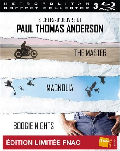 3 chefs-d'oeuvre de Paul Thomas Anderson - The Master + Magnolia + Boogie Nights [Blu-ray]
