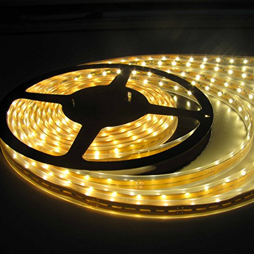 5 meter LED Strip Light Warm White With Adapter