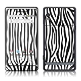 Zebra Stripes Design Protective Skin Decal Sticker for Motorola Droid 2 Cell Phone