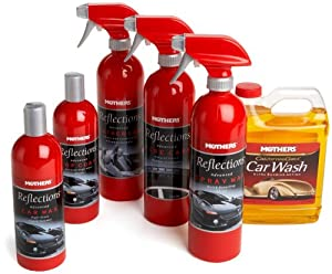 Mothers Reflections Car Care Kit from MOTHERS