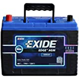 Exide Edge FP-AGM34 Flat Plate AGM Sealed Automotive Battery
