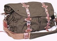 SERBAGS Vintage canvas messenger bag for men military