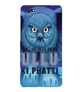 Ulli Ka Patta 3D Hard Polycarbonate Designer Back Case Cover for VIVO X5 PRO :: VIVO X5PRO