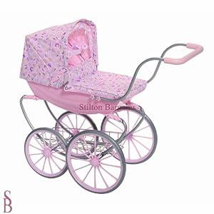 Baby Annabell Vintage Dolls Pram Ij676hi Amazon Co Uk Baby