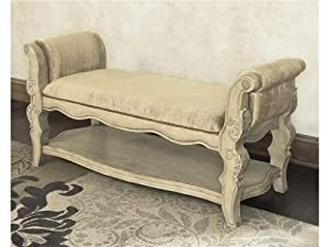 Millennium bedroom upholstered bench by ashley furniture - Ashley furniture bedroom benches ...