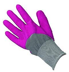 Briers 2 Pack All Season Gardener Gardening Gloves One Size, Pink