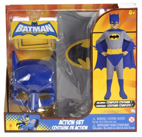 Batman The Brave and the Bold Action Set
