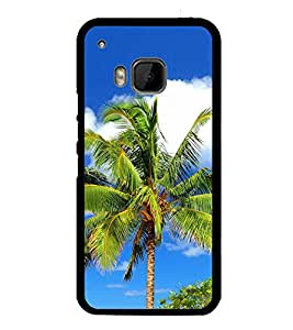 Palm Tree 2D Hard Polycarbonate Designer Back Case Cover for HTC One M9 :: HTC One M9S :: HTC M9 :: HTC One Hima