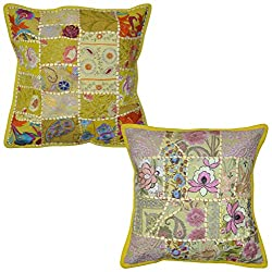Throw Pillow Covers 16x16 Sets Of 2