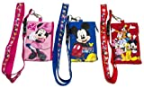 Mickey Mouse and Friends Keychain Lanyard ID Holder set of 3
