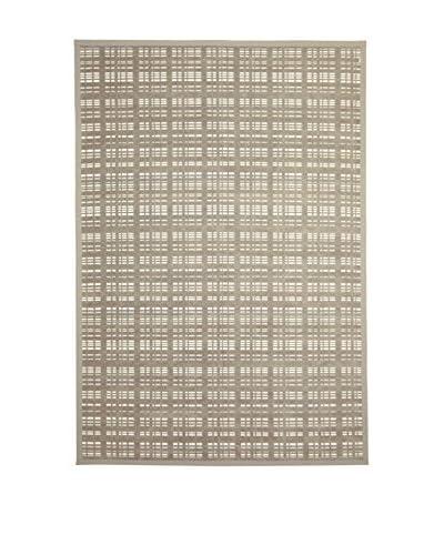 Tapis a Porter Alfombra Modern Gris/Beige 80 x 150 cm