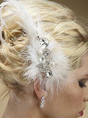 Lavish-Swarovski-Crystal-and-Pearl-Feather-Fascinator-by-Fairytale-Bridal-Tiara