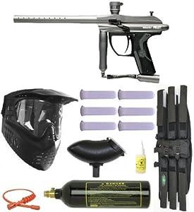 Spyder PILOT Paintball Marker GUN Mega Set - Titanium