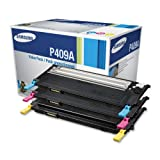 Samsung CLT-P409A Value Pack - Cyan, Magenta, Yellow 1 Each for CLP-315, CLP-315W, CLX-3175FN, CLX-3175FW