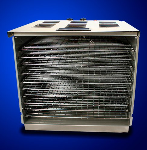 New Commercial 10 Tray Stainless Steel Food Fruit Jerky Dryer Blower Dehydrator (Dehydrators Stainless compare prices)
