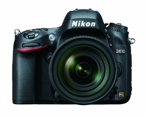 Nikon D610 24.3 MP CMOS FX-Format Digital SLR Camera with 24-85mm f/3.5-4.5G ED VR Auto Focus-S Nikkor Lens - NIKON