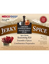 Nesco BJG-6 Jerky Spice Works, 6-Pack, Cracked Pepper & Garlic Flavor by Nesco