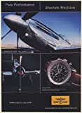 2007 Breitling Navitimer World Watch Unlimited Air Racing Reno Airplane Print Ad (Memorabilia) (58049)