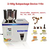110V 2-100g Small Automatic Particle Subpackage Device Weighing Filling Machine