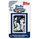 New York Yankees 2009 Topps World Series Champions Set (27 Cards)